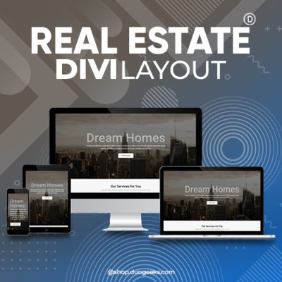 Divi Real Estate Layout