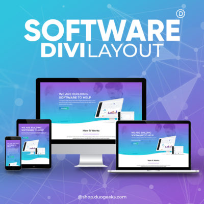 Divi Software Layout