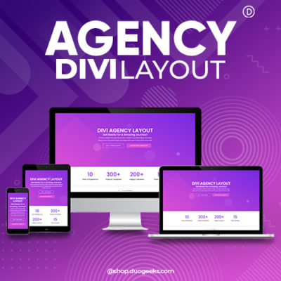 Divi Agency Layout