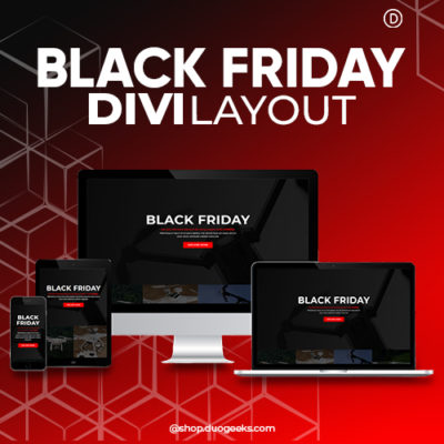 Divi Black Friday Layout