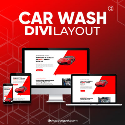 Divi Car Wash Layout