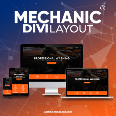 Divi Mechanic Layout
