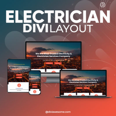 Divi Electrician Layout