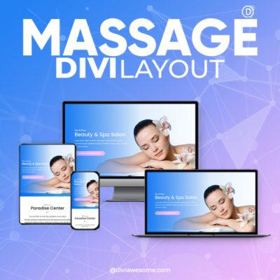Divi Massage Layout