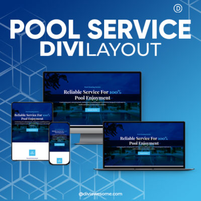 Divi Pool Service Layout
