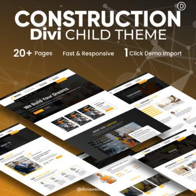 Divi Construction Child Theme