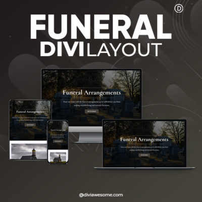 Divi Funeral Layout
