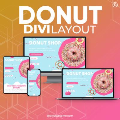 Divi Donut Layout