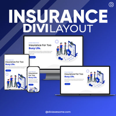 Divi Insurence Layout