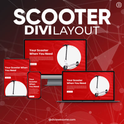 Divi Scooter Layout